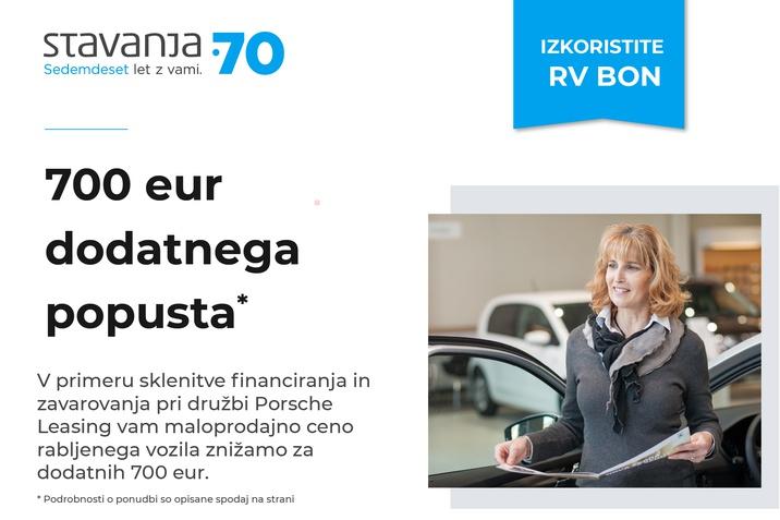 700 eur dodatnega popusta